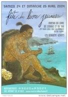 """Carte Postale édition """"Carte à Pub"""" - Fête Du Livre Jeunesse - Villeurbanne (illustration : François Place) - Advertising"""