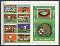 Guinea Ecuatorial 1977. Mi 1086-1093 + Block 258 ** MNH. - Equatorial Guinea