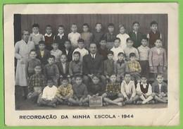 Seixal - Alunos Da Escola Primária Com Os Professores - School - École - Portugal (Fotográfico) - Schools