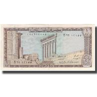 Billet, Lebanon, 1 Livre, KM:61b, SUP+ - Egypt