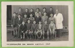 Seixal - Alunos Da Escola Primária Com O Professor - School - École - Portugal (Fotográfico) - Schools