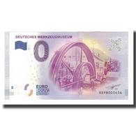 Allemagne, Billet Touristique - 0 Euro, Germany - Remscheid - Musée Allemand De - Deutschland