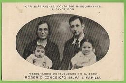 Portugal - Missionários Em S. Tomé E Príncipe - Globetrotters - Missions