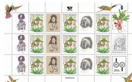 Czech Republic 2020 - Indian, Native Samoa And Papua, Nice Czech Traveler Miloslav Stingl, My Stamps, MS, MNH - Sellos