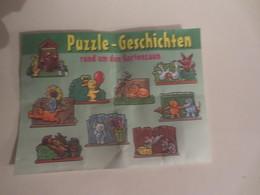 Kinder Surprise Deutch 1998 : BPZ N° 637165 - Instructions