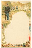 Lettre Militaire De Correspondance. Vierge. Illustrée. 4 Pages. - Dokumente