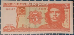 Cuba - 3 CUP (Pesos) - 2004 - UNC - Che Guevarra - Cuba