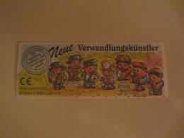 Kinder Surprise Deutch 1998 :  BPZ N° 650366 - Instructions