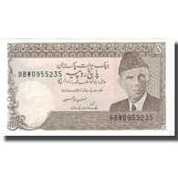 Billet, Pakistan, 5 Rupees, KM:38, NEUF - Pakistán