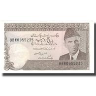 Billet, Pakistan, 5 Rupees, KM:38, NEUF - Pakistan