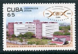 Y85 CUBA 2006 4818 20 Years To The Center For Genetic Engineering And Biotechnology. The Science - Scienze