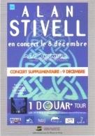 """Carte Postale édition """"Carte à Pub"""" - Alan Stivell En Concert à L'Olympia (chanteur - Musicien) - Advertising"""