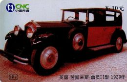 CHINA. COCHE - CARS - 1929 - AHAQ-IP-2004-G9(10-2). (064). - Auto's