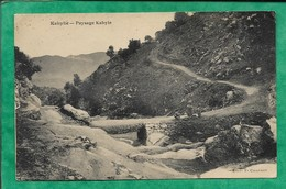 Kabylie - Paysage Kabyle 2scans - Other