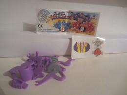 Kinder Surprise Deutch 1998 : N° 617024 + BPZ + Stickers - Steckfiguren