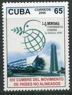 Y85 CUBA 2006 4839 14th Congress Of Non-Aligned Countries, Havana. Policy - Ongebruikt