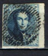 BELGIO - 1851 - EFFIGIE DEL RE LEOPOLDO I - USATO - 1849-1865 Medallions (Other)