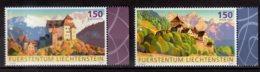 2017 Liechtenstein Europa CEPT Castles MNH** MiNr. 1839 - 1840 Mountains, - 2017