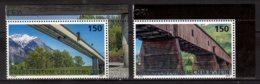 2018 Liechtenstein Europa CEPT Bridges MNH**MiNr. 1886 - 1887 Motorway Bridge, Wooden Pedestrian River Crossing Bridge - Ongebruikt