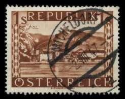 ÖSTERREICH 1945 Nr 767II Gestempelt X73A3DA - 1945-.... 2. Republik