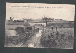 CPA (35) Martigné-Ferchaud - Pont Du Chemin De Fer - France
