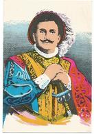XW 2190 Enrico Caruso Nel Personaggio Duca Di Mantova Del Rigoletto Di Giuseppe Verdi / Non Viaggiata - Zangers En Musicus