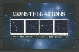 Guyana 2013 Constellations Sheet 2 Y.T. 6357/6360 ** - Guyana (1966-...)