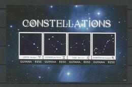 Guyana 2013 Constellations Sheet 1 Y.T. 6353/6356 ** - Guyana (1966-...)