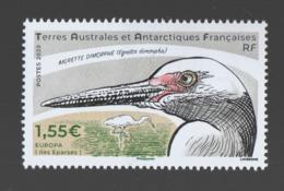 CG TAAF ** 2020 Oiseau Aigrette - Terre Australi E Antartiche Francesi (TAAF)