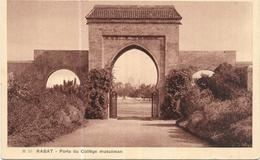 "MAROC ""Rabat, Porte Du Collège Musulman"" - Rabat"
