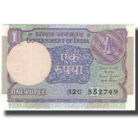 Billet, Inde, 1 Rupee, KM:78Ae, SPL - Indien