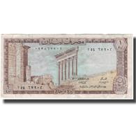 Billet, Lebanon, 1 Livre, KM:61b, TTB - Egypt
