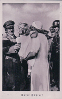 Le Führer, Mère Et Enfant + Timbre Tchèque Cachet Asch (21.9.38) - Persönlichkeiten