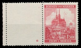 BÖHMEN MÄHREN 1939-1940 Nr 30LW PlSt1L Postfrisch WAAGR X82843A - Bohemia Y Moravia