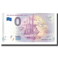 Belgique, Billet Touristique - 0 Euro, Belgium - Oostende - Musée De La Voile - België