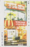 RR RARE Télécarte JAPON / TCP 110-002  - MCDONALD'S - FOOD JAPAN Phonecard - 170 - Food