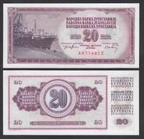 Jugoslawien - Yugoslavia 20 Dinara Banknote 1974 Pick 85 UNC (1)  (26406 - Joegoslavië