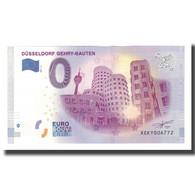 Allemagne, Billet Touristique - 0 Euro, Germany - Düsseldorf - Buildings De - Altri
