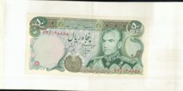 Billet IRAN     50 RIALS BANQUE  MARKAZI IRAN 1974   Mai 2020  065 - Irán