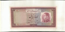 Billet De Banque  MELLI  IRAN   100 RIALS  1954  Mai 2020  063 - Iran