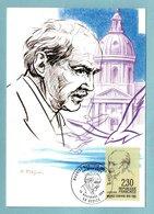 Carte Maximum 1990 - Maurice Genevoix - Centenaire De Sa Naissance - YT 2671 - 58 Decize - Cartes-Maximum