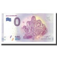 Allemagne, Billet Touristique - 0 Euro, Germany - Duisburg - Le Zoo De Duisbourg - Altri