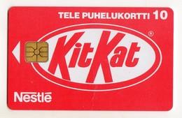 FINLANDE TELE KITKAT NESTLE 10U Neuf 02/97  4 000 Ex - Finland