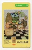 CANADA TELECARTE QUEBECTEL Tirage 5 000 Ex NEUF Le Miroir Aquarelle De Alain GRENIER DATE 04/97 - Canada