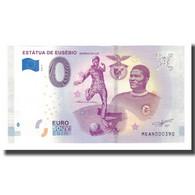 Portugal, Billet Touristique - 0 Euro, Portugal - Lisboa - La Statue De Eusébio - Jetons & Médailles