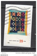 USA, BORDO DESTRO IN BASSO, Textile, Courtepointe, Quilt - Textile
