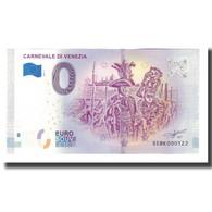 Italie, Billet Touristique - 0 Euro, Italy - Venezia - Le Carnaval De Venise - Otros