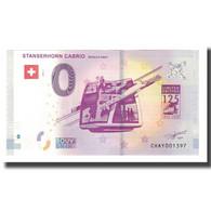 Suisse, Billet Touristique - 0 Euro, Switzerland - Stans - Le Téléphérique - Jetons & Médailles
