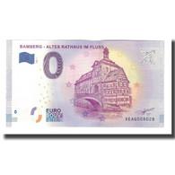 Allemagne, Billet Touristique - 0 Euro, Germany - Bamberg - Altes Rathaus Im - Allemagne
