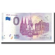 Allemagne, Billet Touristique - 0 Euro, Germany - Köln - Die Stadt Am Rhein - - Allemagne